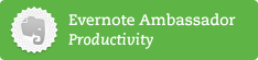 Evernote Productivity Ambassador