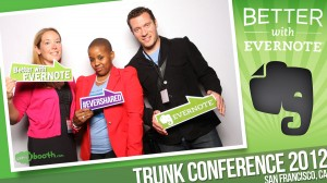 With fellow Evernote Ambassadors at the Evernote Trunk Conference
