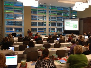 Attendees at the Evernote in Action Workshop