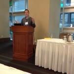 Joshua Zerkel speaking at the Evernote in Action Workshop