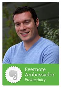 Joshua Zerkel, Evernote Productivity Ambassador